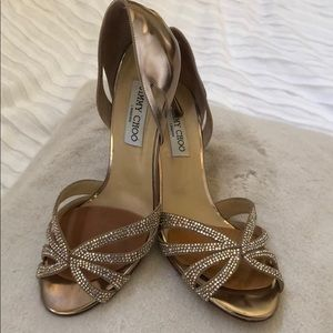 Jimmy Choo Shoes - Jimmy Choo Bauble D'Orsay Crystal Embellished